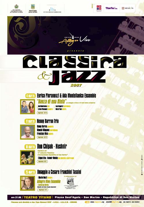 Classica jazz 2007 for Classic jazz house